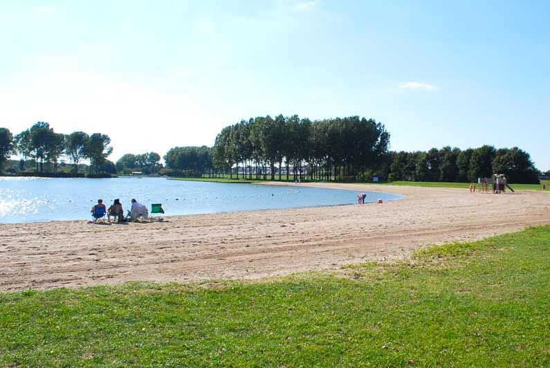 Strand Ouderkerkerplas