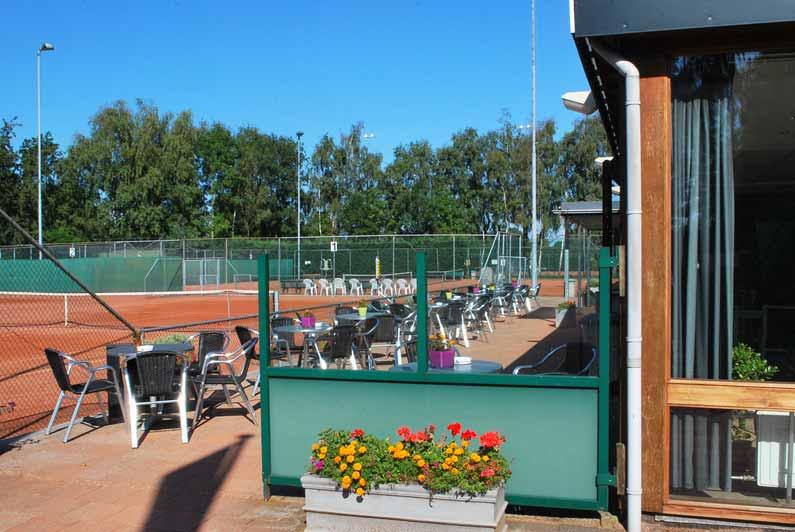Terras Tennispark Zuidermeer