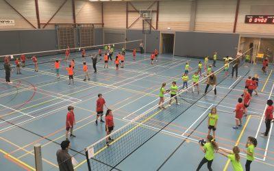 Ouder-Amstel maakt zich klaar voor de regiokampioenschappen schoolvolleybal