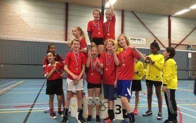 Regiokampioenschappen schoolvolleybal in Ouder-Amstel