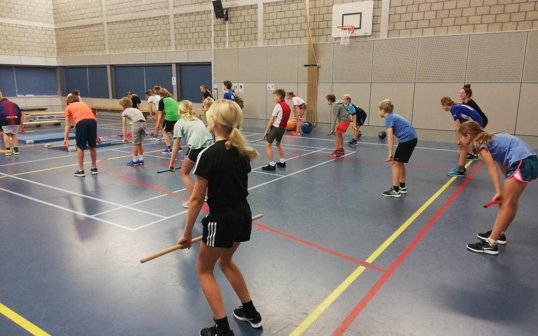 Leerlingen van groep 7 en 8 maken kennis met CrossFit