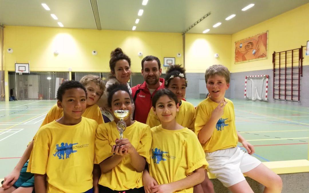 Fanatiek basketbaltoernooi in Duivendrecht